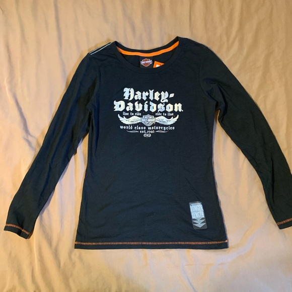 Harley-Davidson Tops - Women's Harley Davidson long sleeve tee.